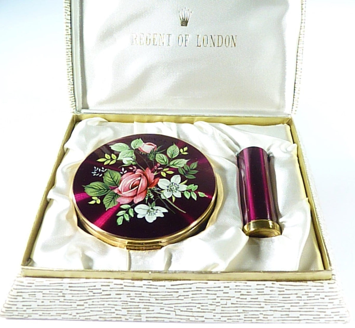 Regent Of London Enamel Vanity Set