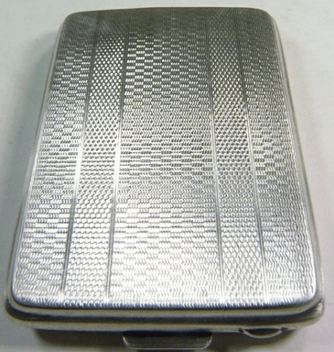 Sampson Mordan vesta case hallmarked silver