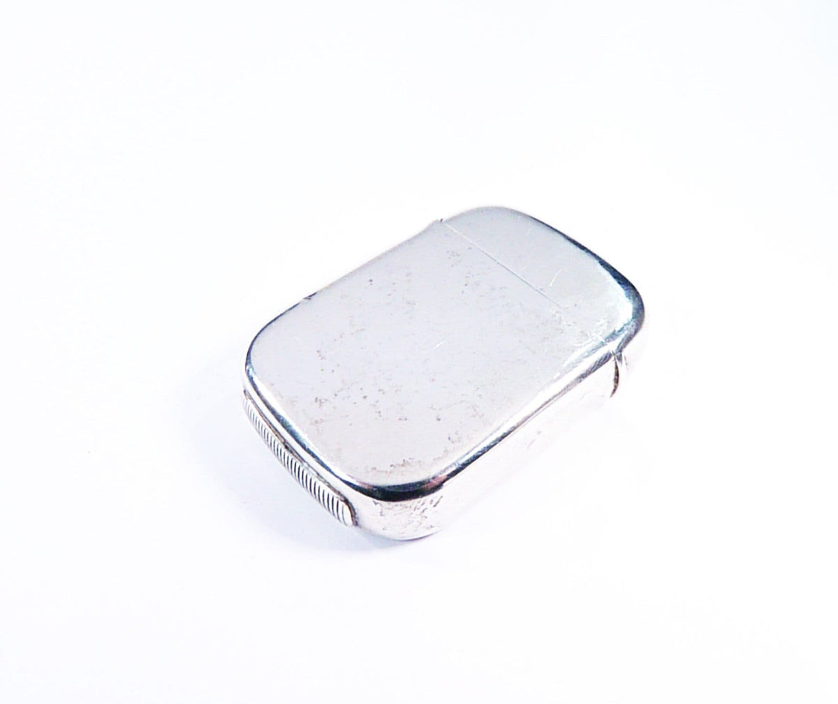 Silver Vesta Case With Striker On Base