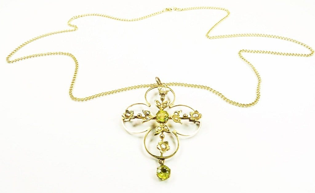 Solid Gold Antique Pendant
