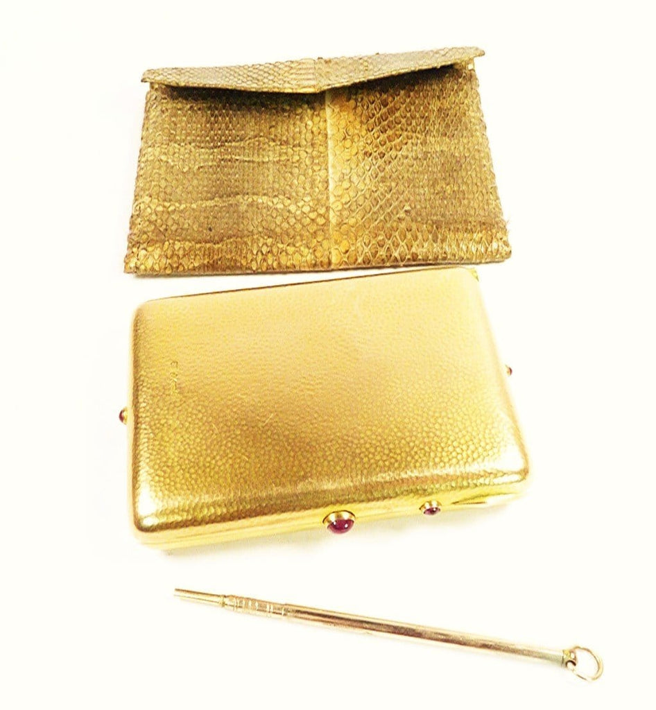 Solid Gold Edwardian Necessaire