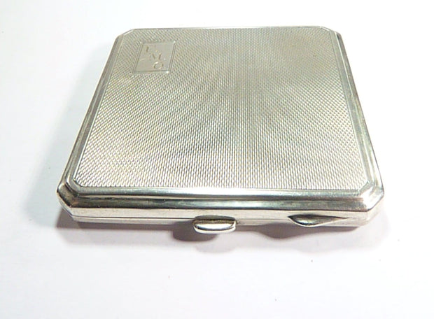 Solid Silver Handbag Mirror