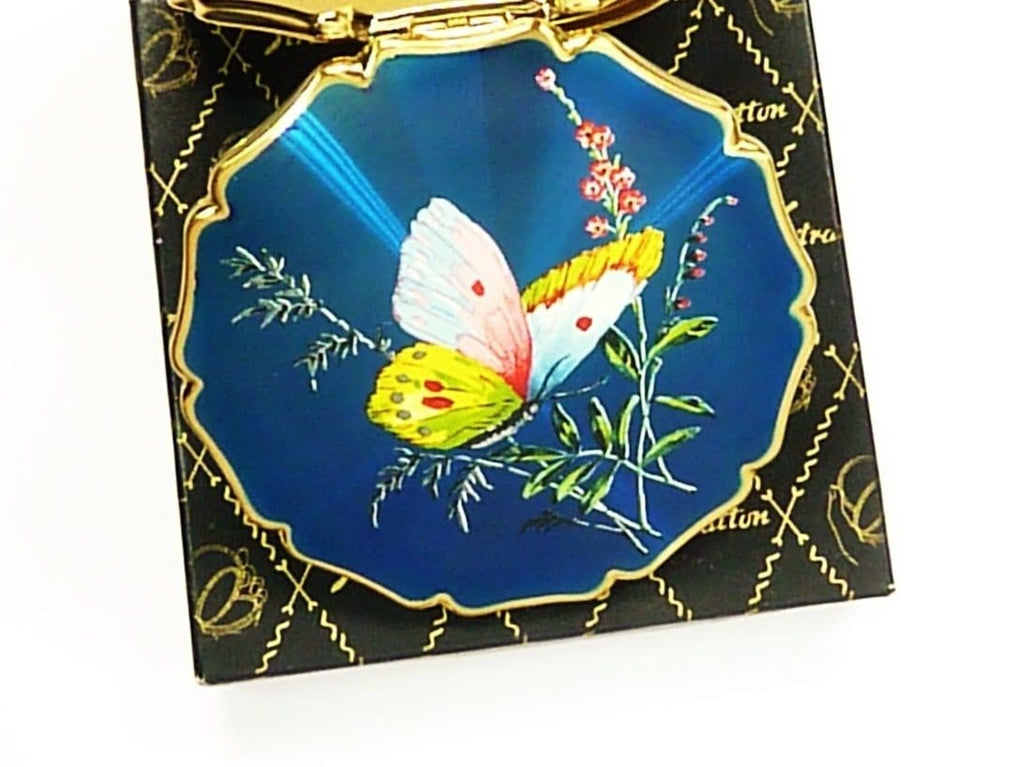 Stratton Butterfly Compact Mirror
