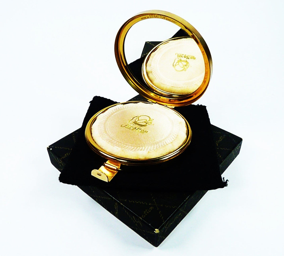 Stratton Glamorizer Early Compact Mirror 1950s