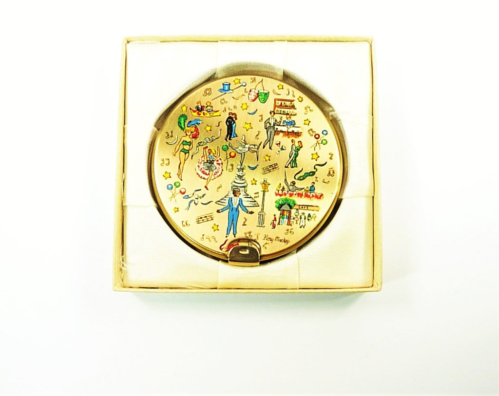 Stratton Piccadilly Scene Compact Mirror