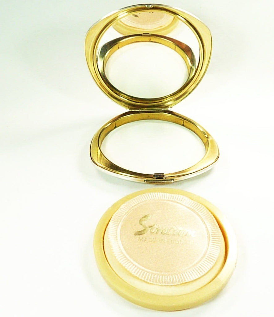 Stratton Shell Convertible Powder Compact
