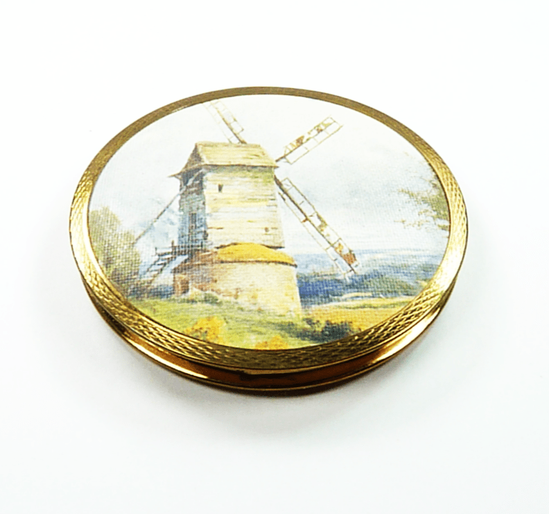 Stratton Windmill Rare Compact Mirror