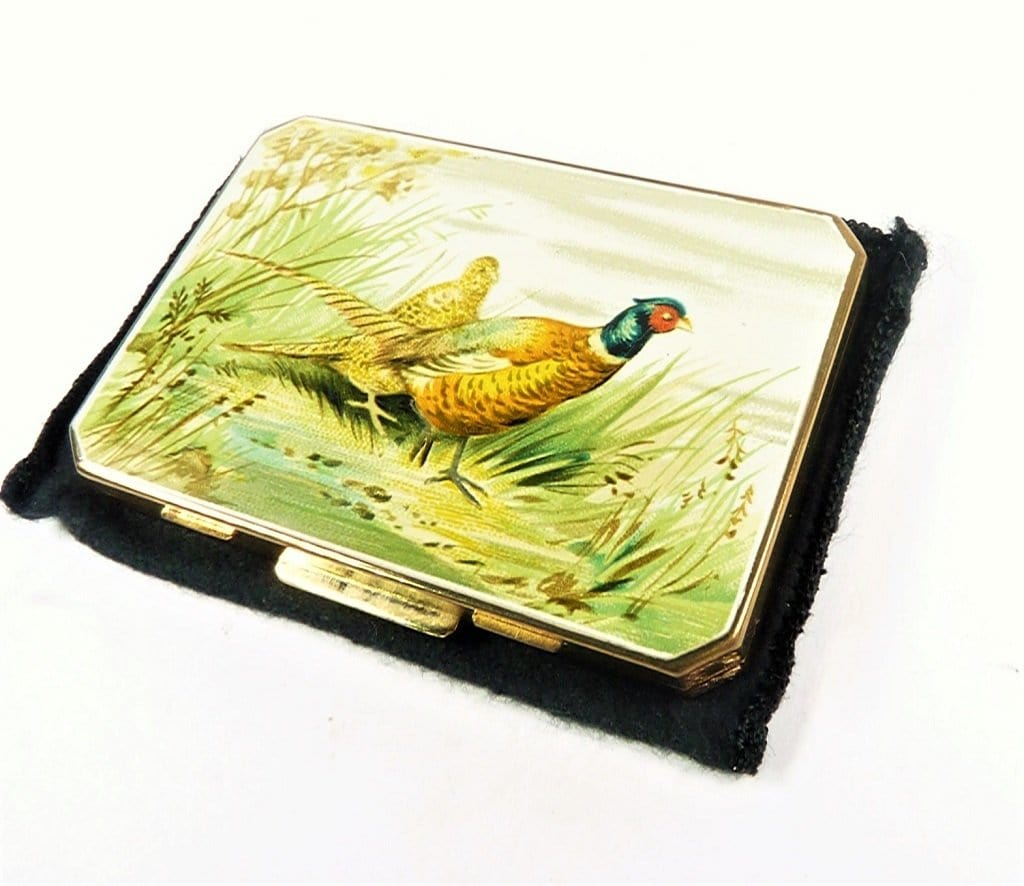 Stratton Bird Series Pheasant Powder Compact