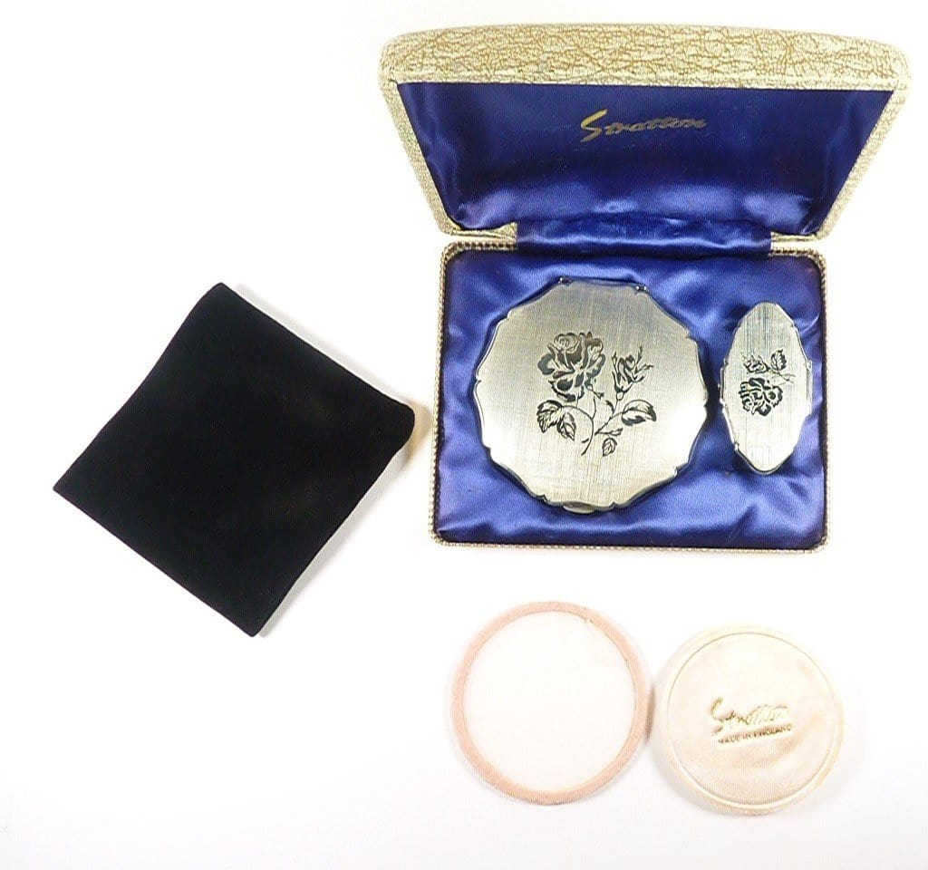 Stratton Gift Set Compact Mirror Suitable For  Rimmel foundation