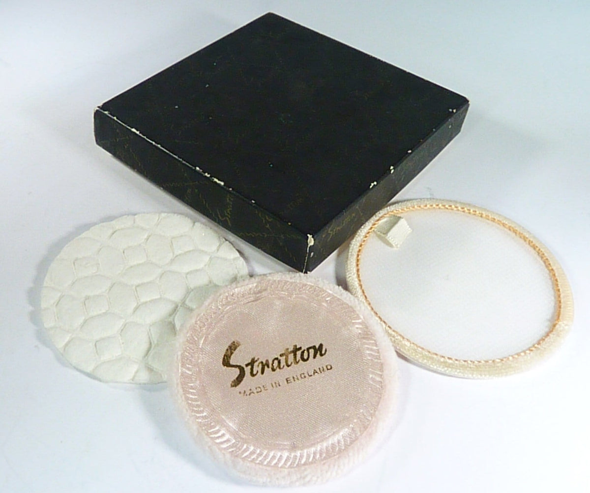 Stratton Powder Mirror Compact With Original Box