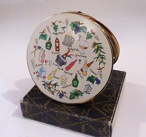 Stratton Toast compact 1950s