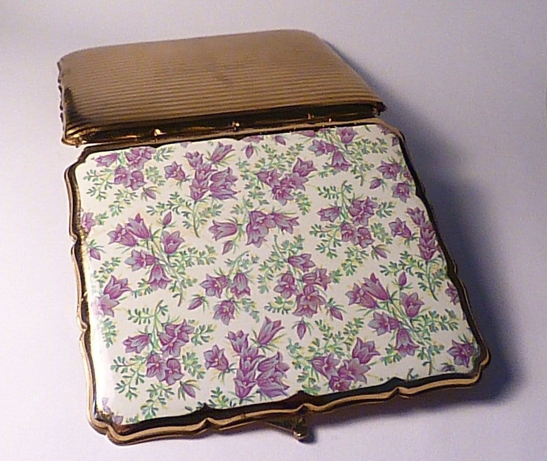 Enamel Stratton cigarette case 1950s enamel business card cases