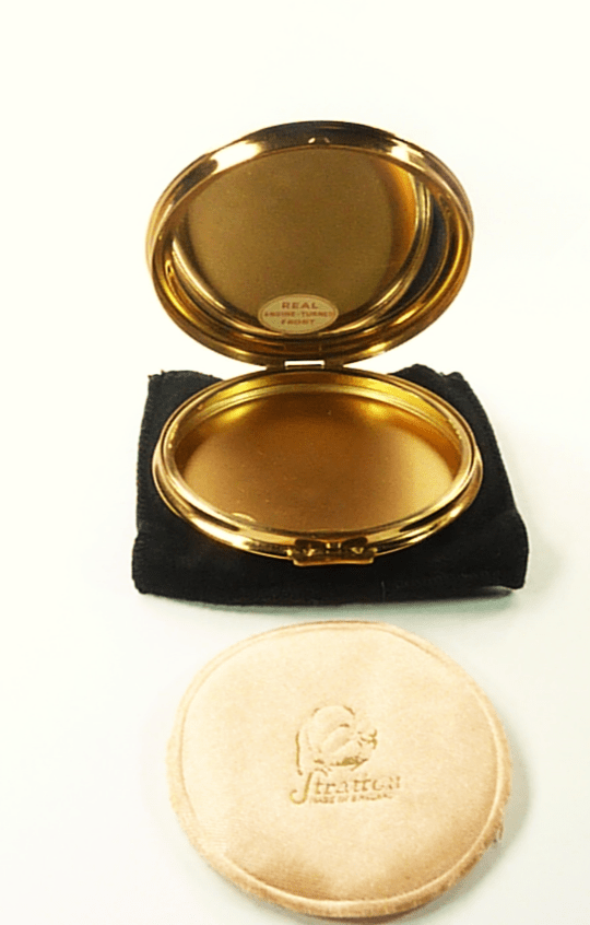 UnusedVintage Makeup Compact For Max Factor Creme Puff