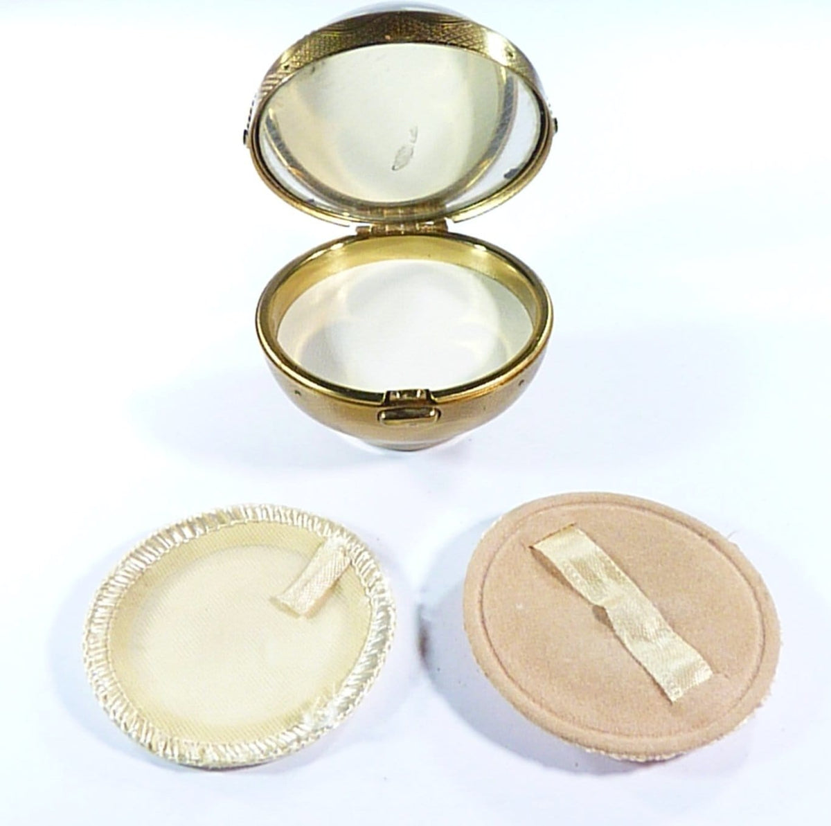 Unused 1950s Loose Powder Compacts