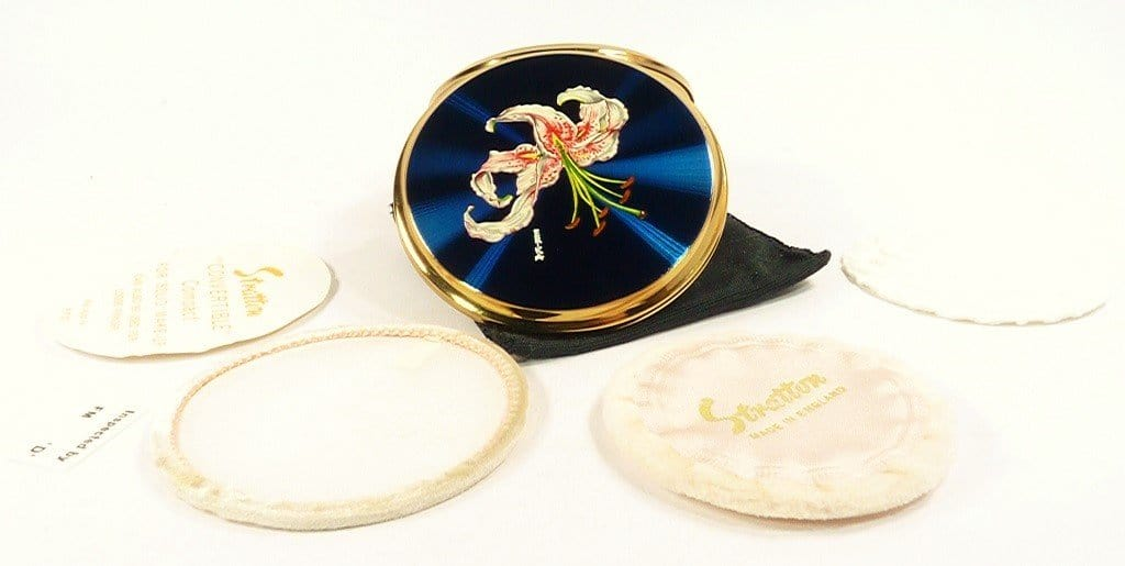 Unused 1960s Compact For Face Powder