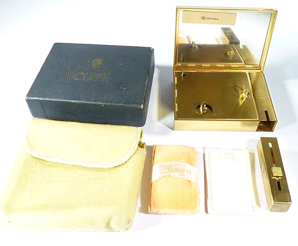 Unused Boxed Volupte Musical Compact And Lipstick