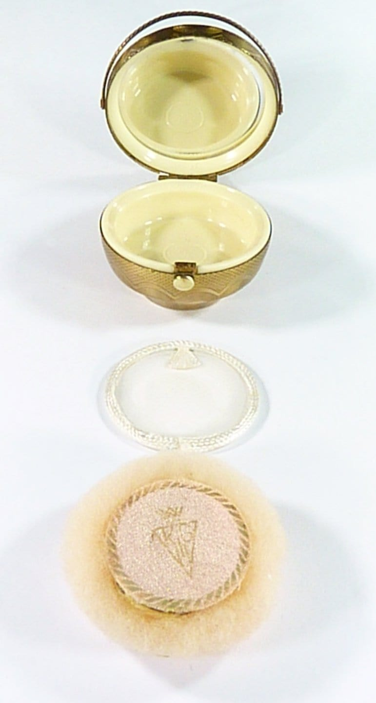 Unused Rare Vintage Powder Compact