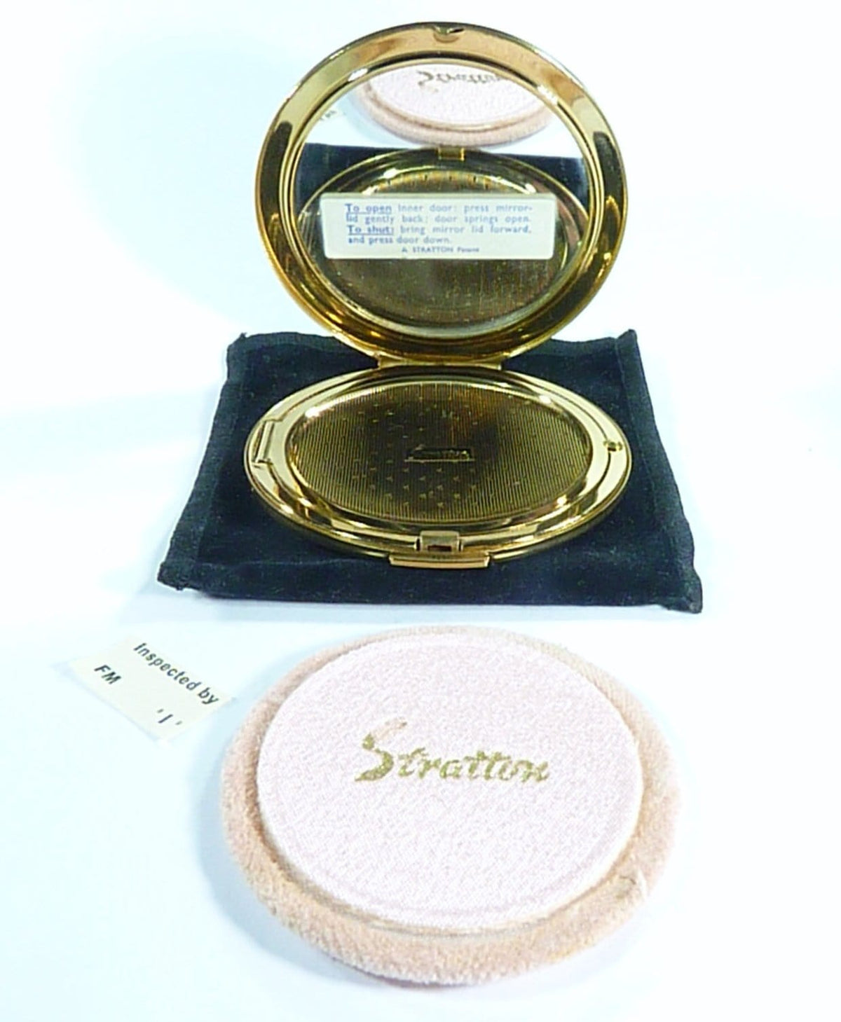 Unused Stratton Compact Made In 1960s