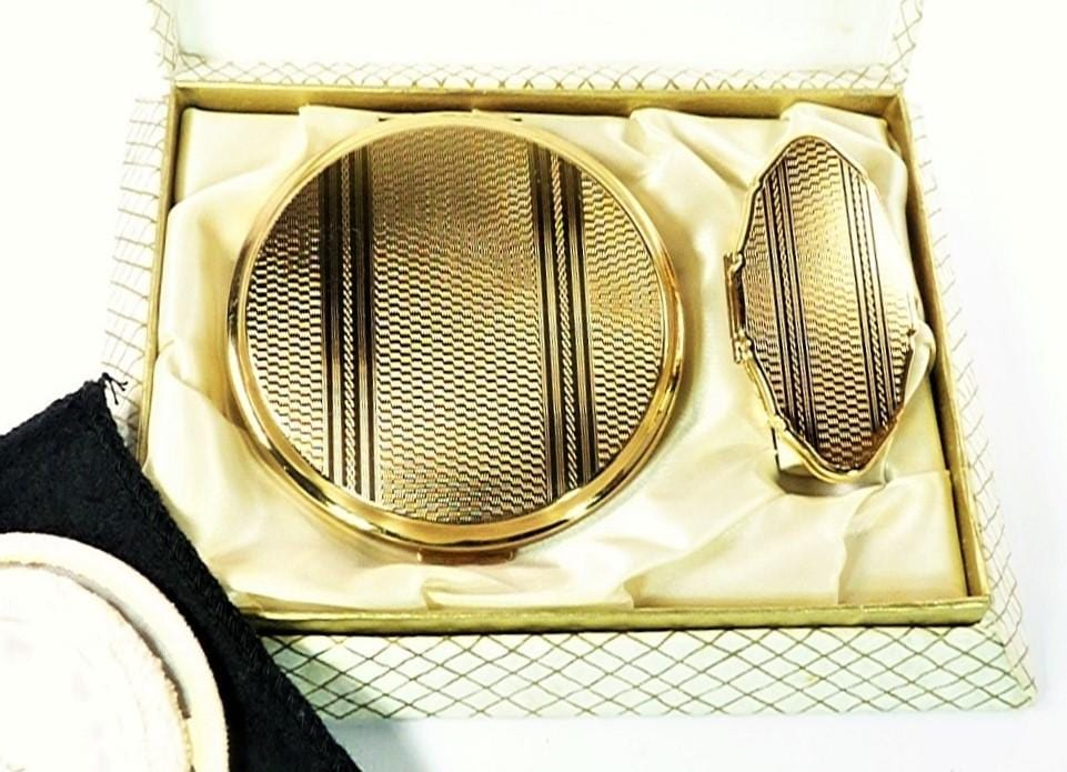 Stratton Lipstick Compact Mirror Set