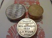 rare French powder compacts