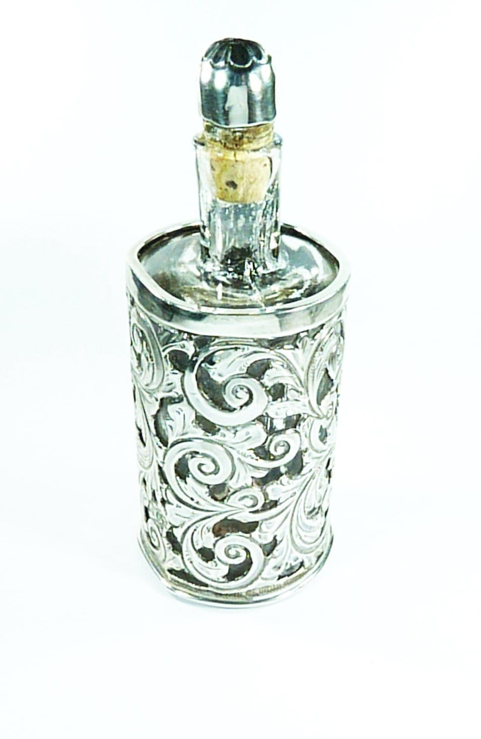 Victorian Silver Scent Bottle
