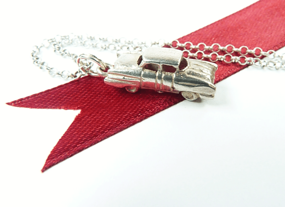 Vintage Car Necklace