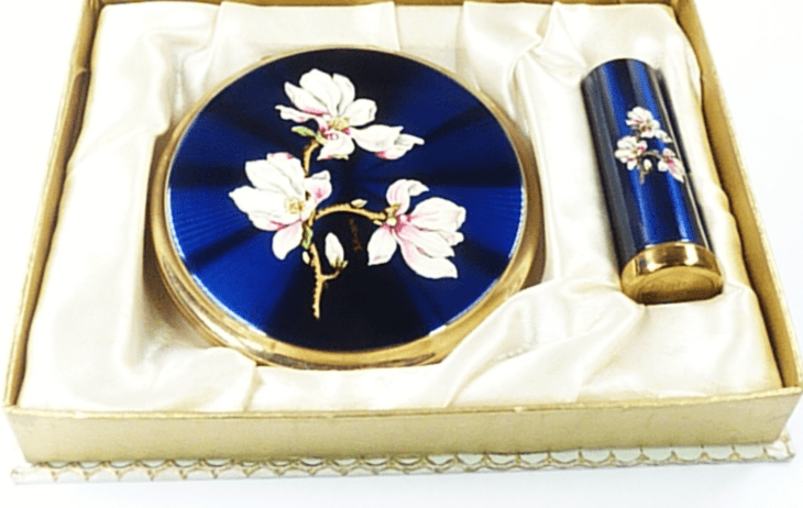 Vintage Compact Set Unused