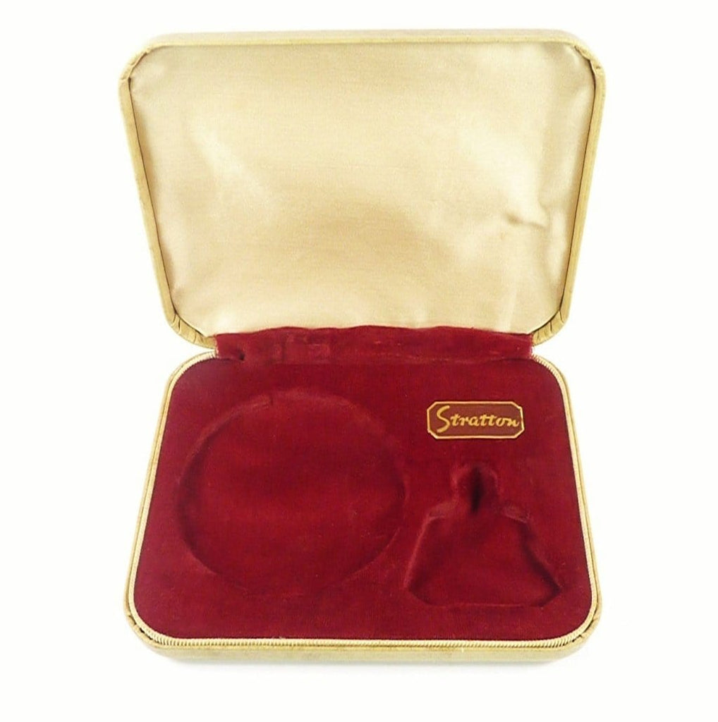 Vintage Cased Stratton Compact Set