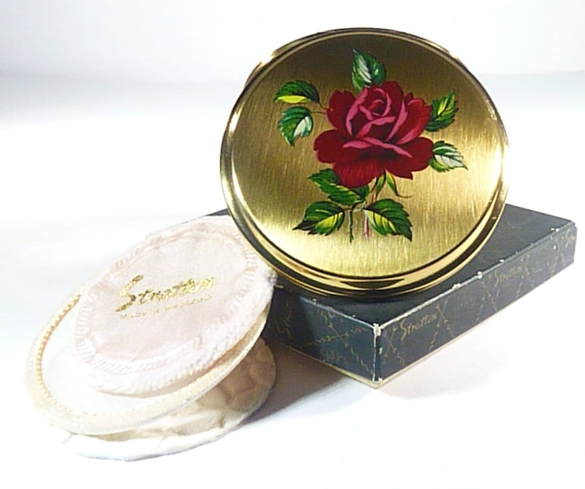 Vintage Compact For Max Factor Creme Puff