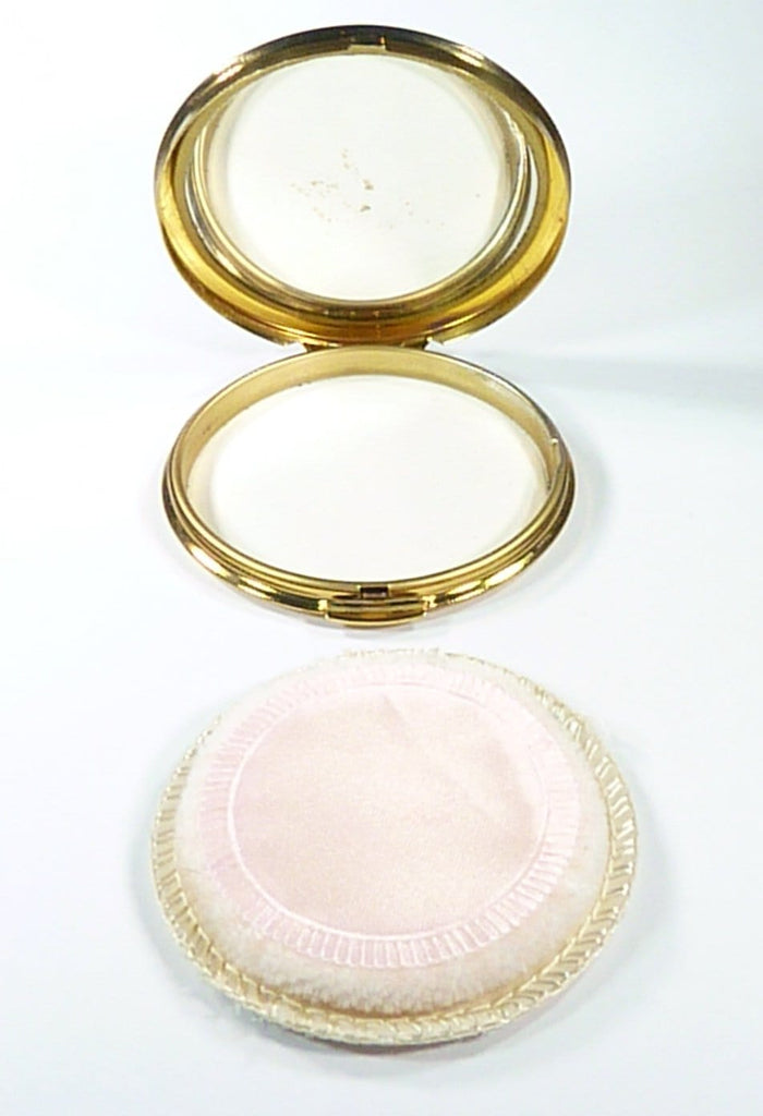Vintage Compact Mirror For Compressed Powder