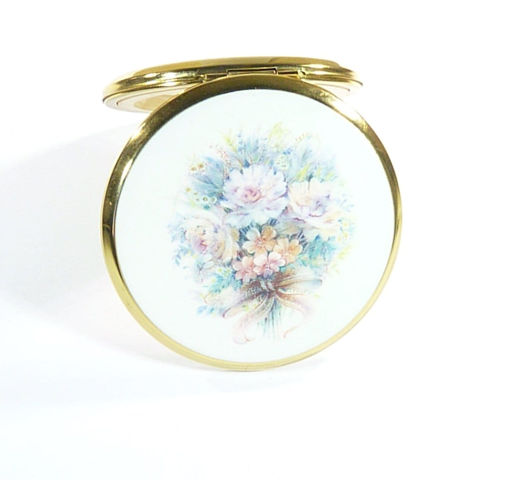 Vintage Compact Mirror For Max Factor Creme Puff