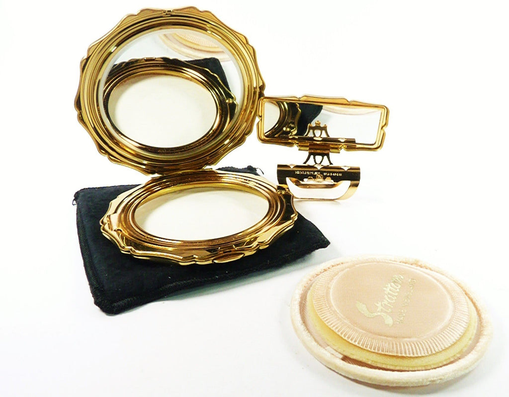 Vintage Makeup Compact For Max Factor Creme Puff