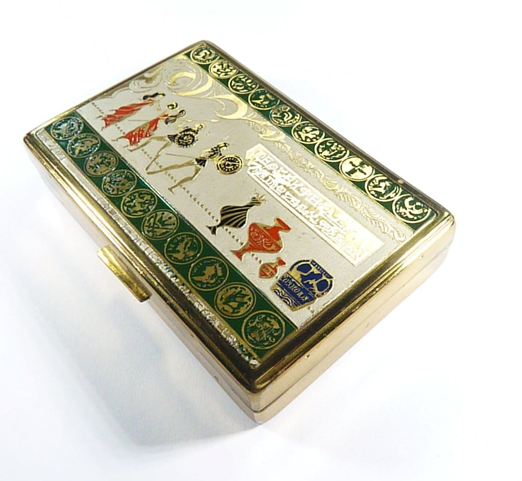 Vintage Powder Boxes Musical