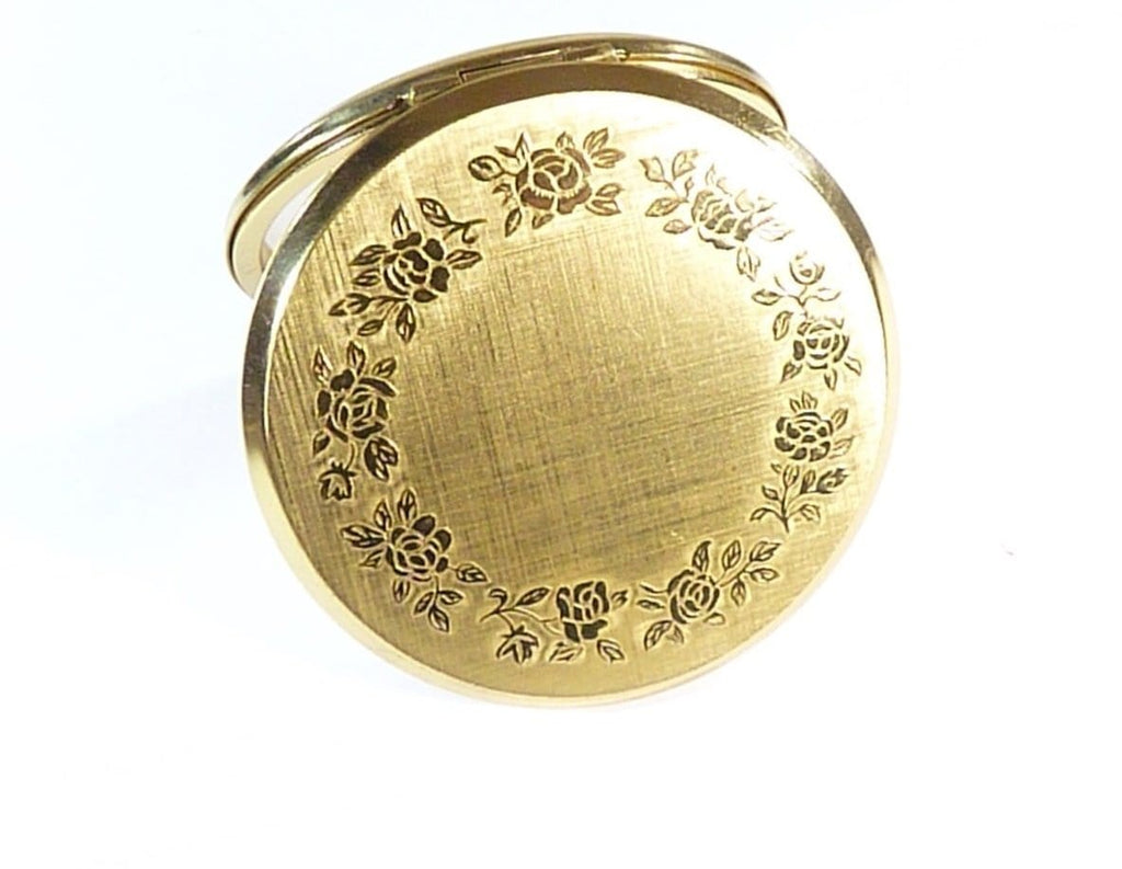 Vintage Refillable Compact Case  Max Factor Creme Puff