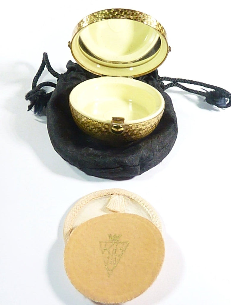 Vintage Refillable Loose Powder Compact