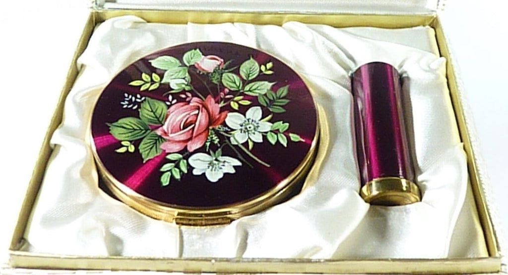 Vintage Regent Of London Enamel Vanity Set