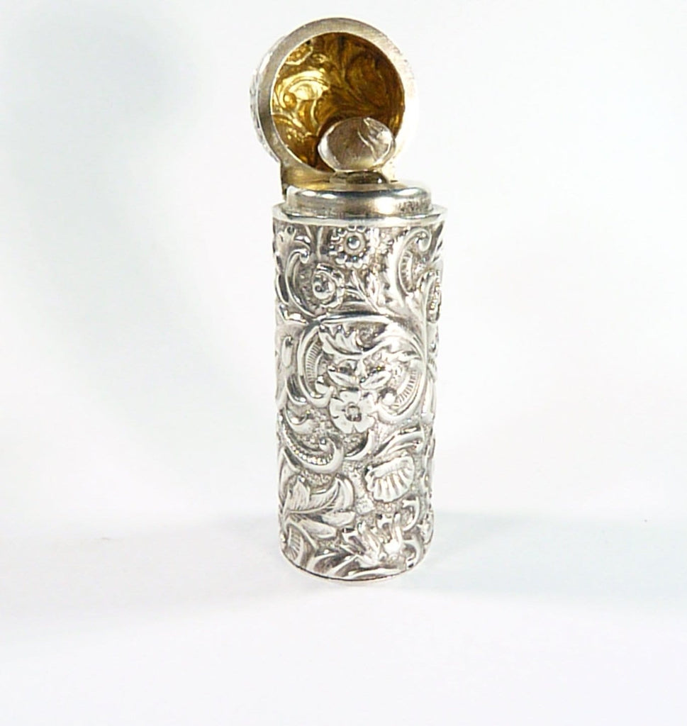 William Neale Silver Perfume Bottle