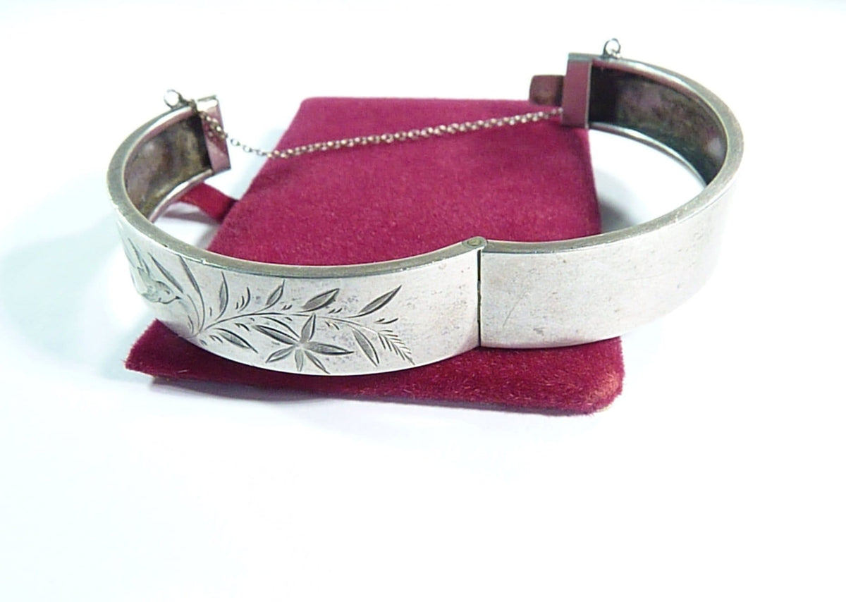 antique Victorian sterling silver bracelet