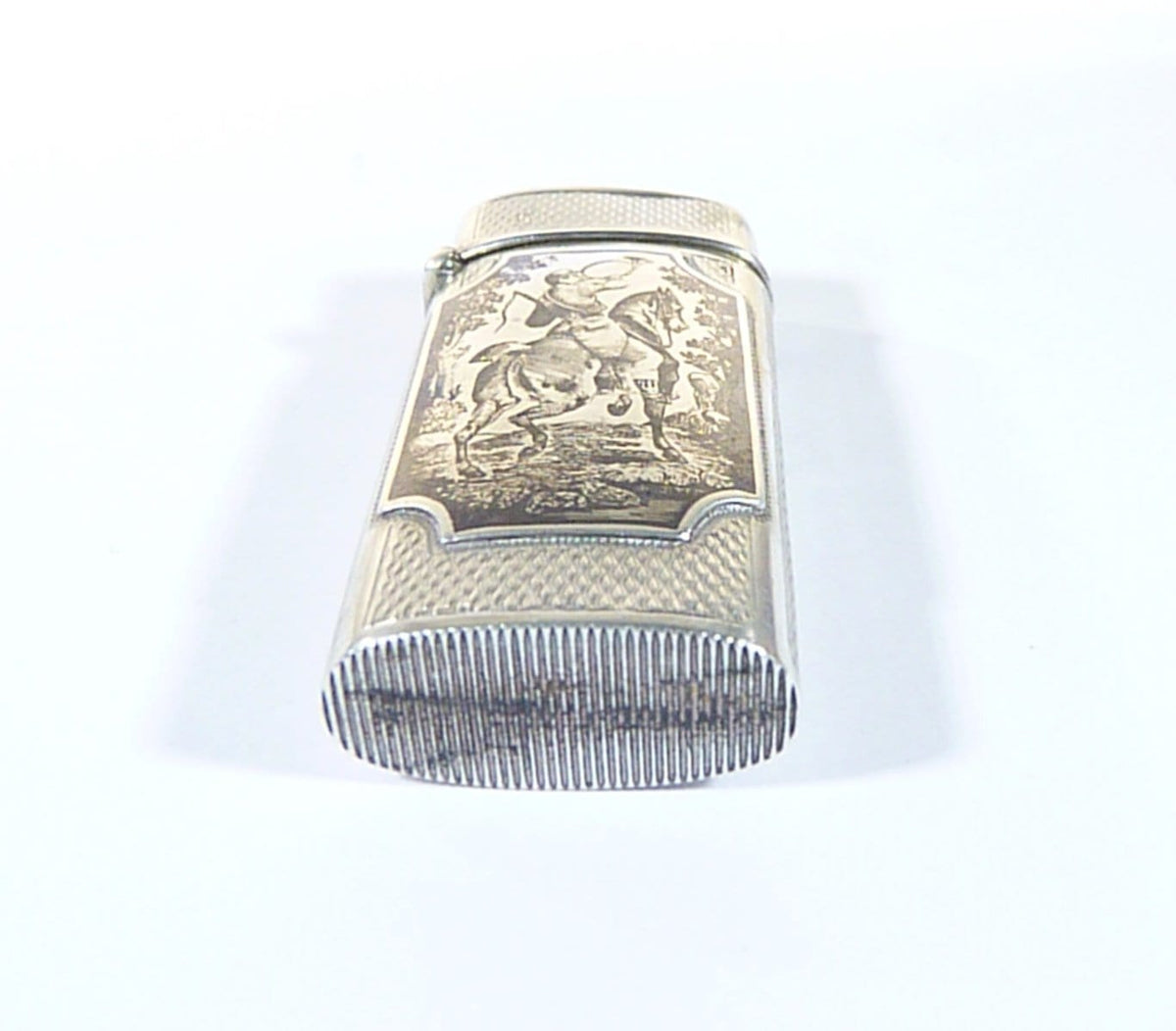 antique hallmarked silver vesta case