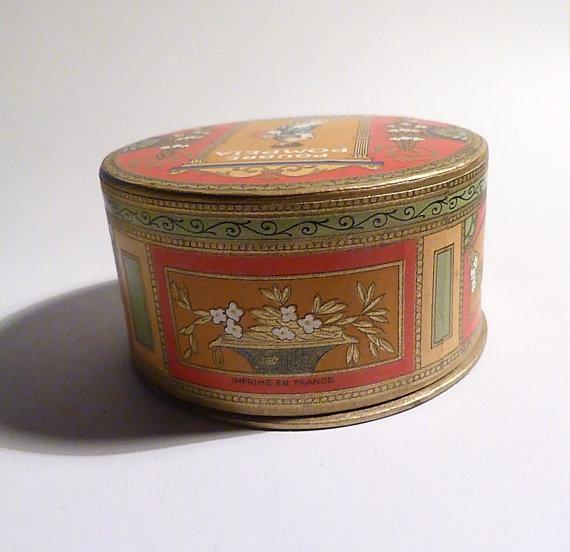 antique powder boxes