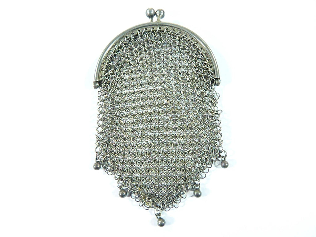 antique silver gifts chatelain purse
