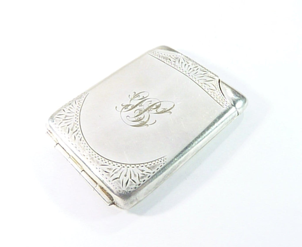 antique silver wedding gifts for him match book holder