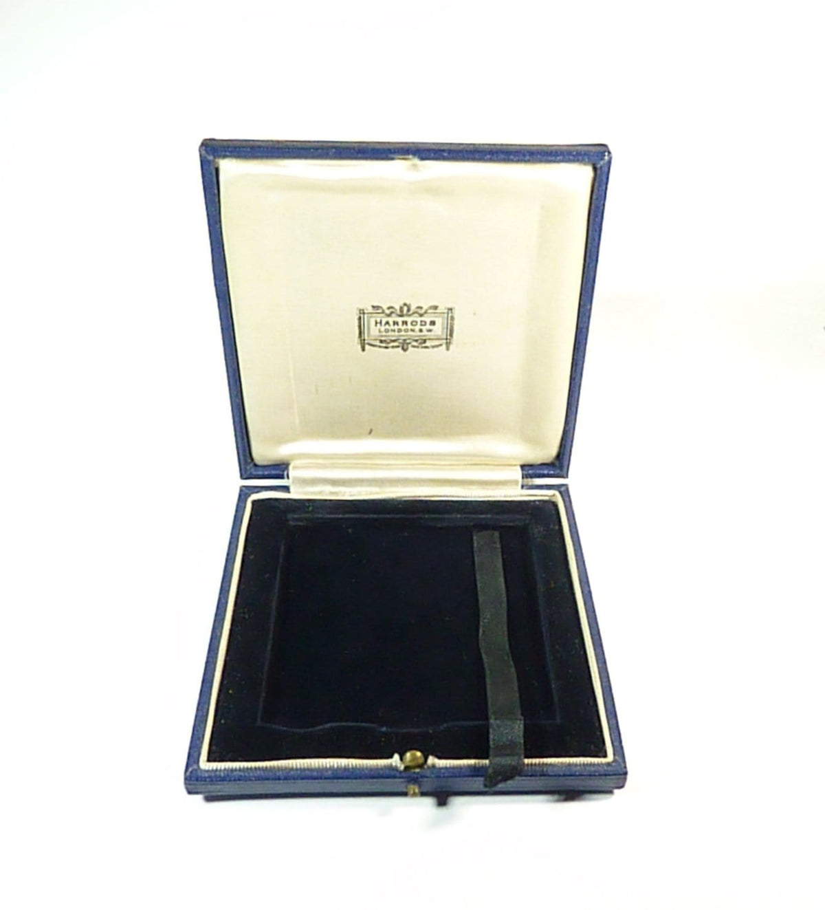 cased Harrods antique silver