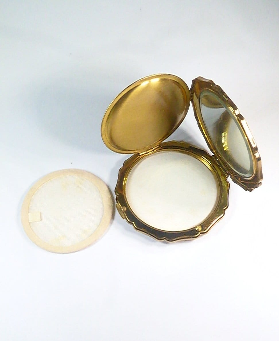 compact mirrors vintage stratton