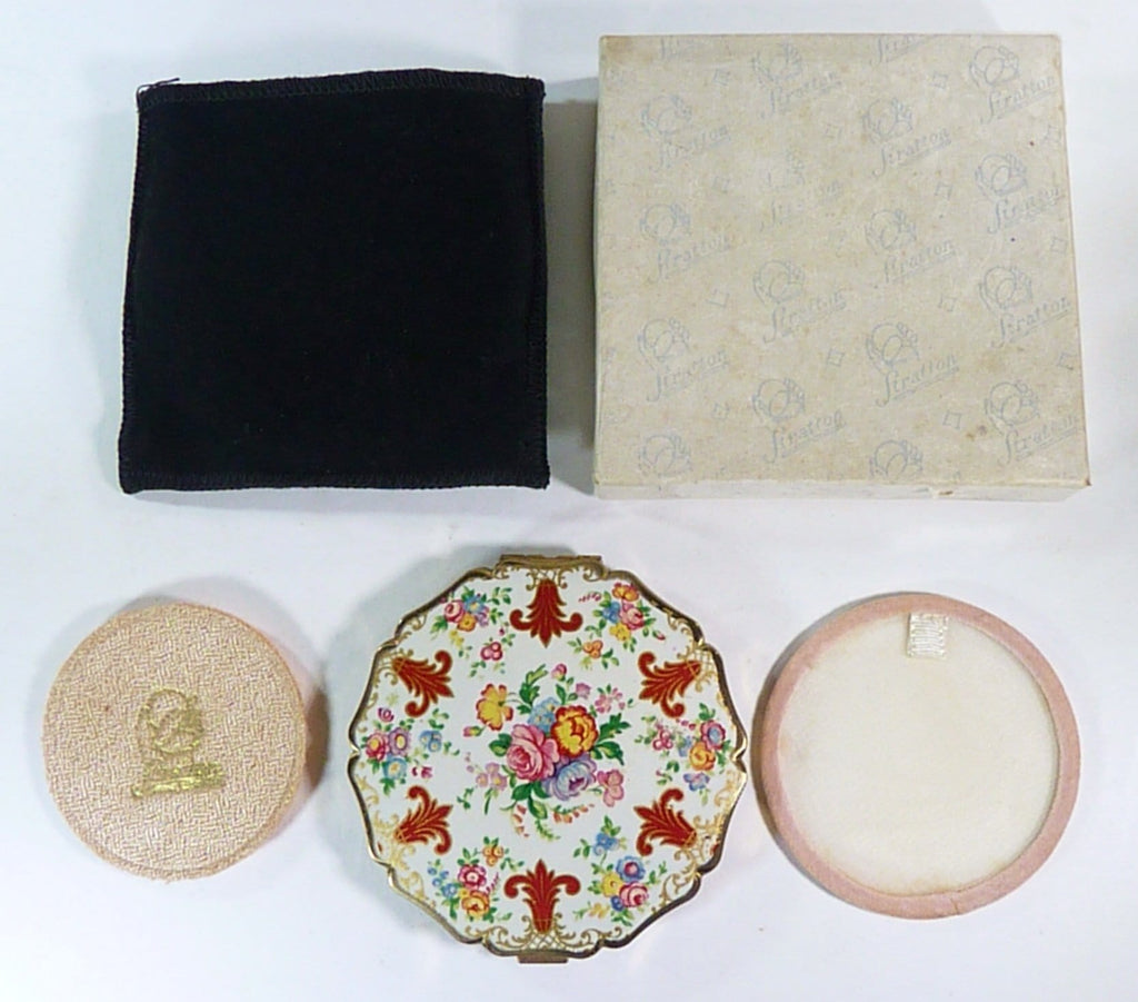 complete unused boxed Stratton Princess compact mirror