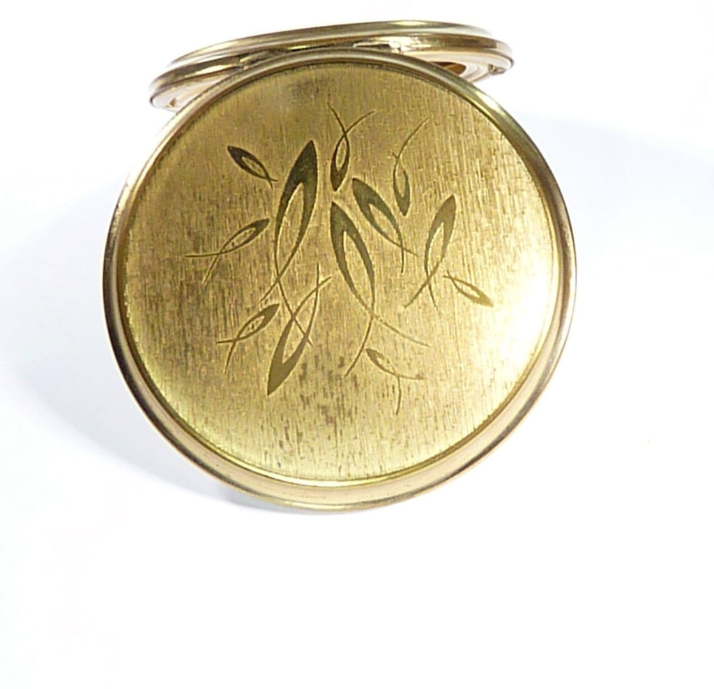 gifts for her vintage Stratton compact