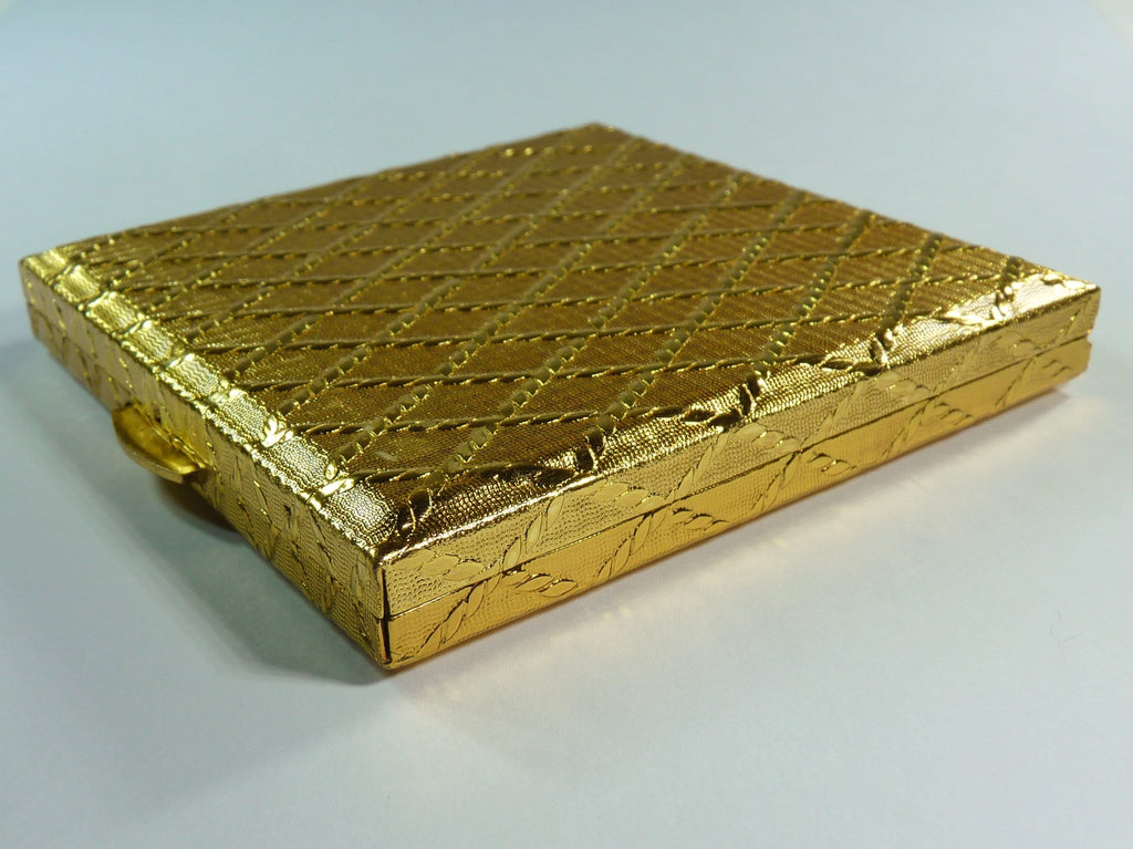 gold refillable compact mirrors