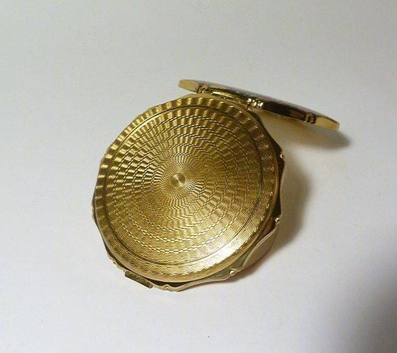 guilloche compacts antique