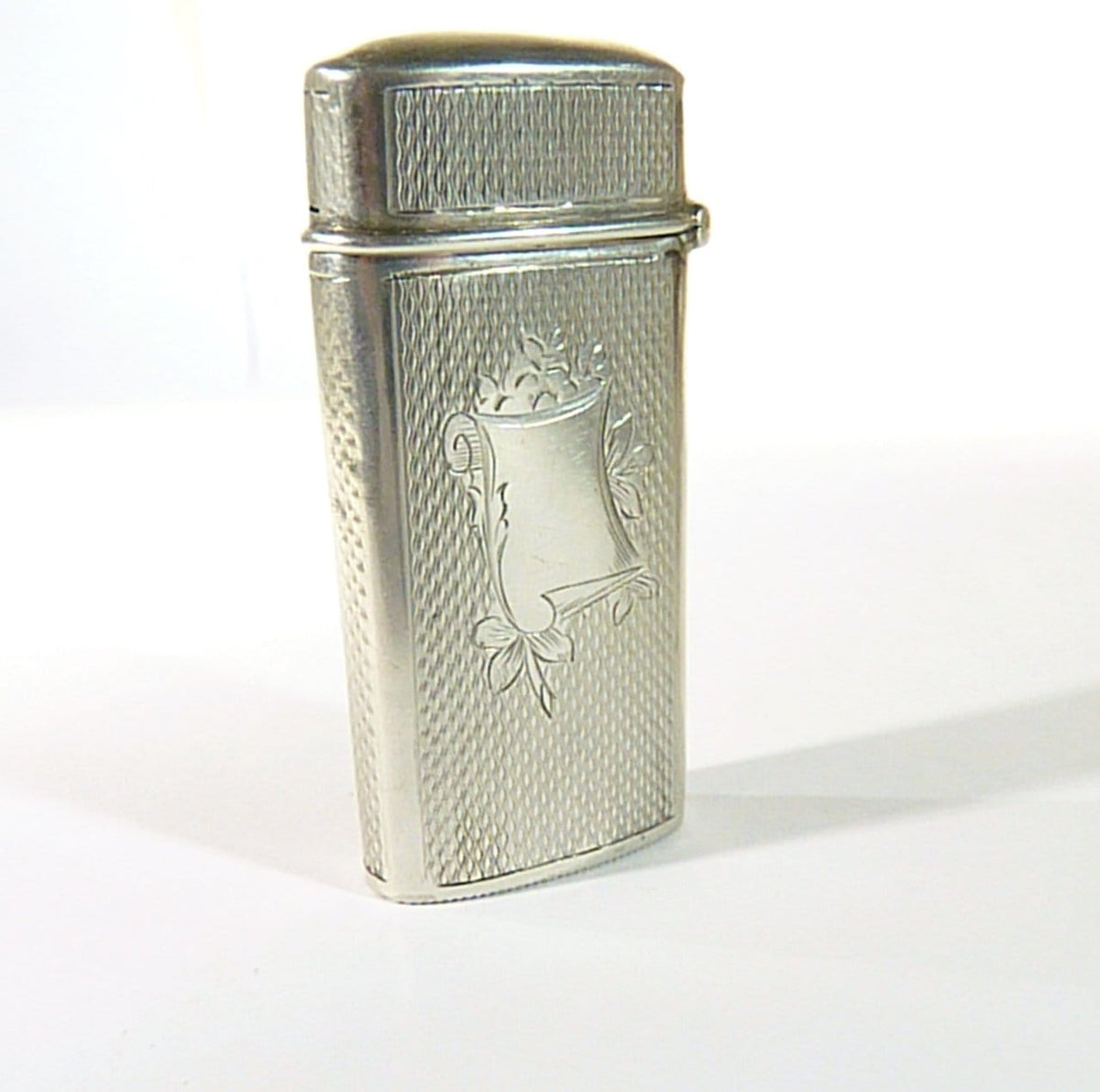 hallmarked antique silver matchsafes