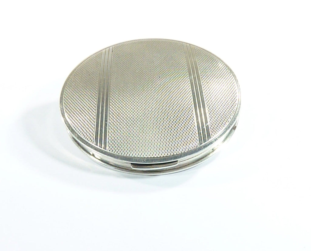 hallmarked silver gifts compact mirror